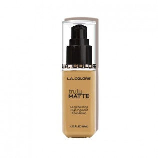 "TRULY MATTE FOUNDATION ""NUDE"" L.A COLORS"