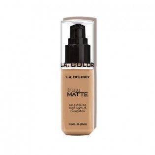 "TRULY MATTE FOUNDATION ""SOFT BEIGE"" L.A COLORS"