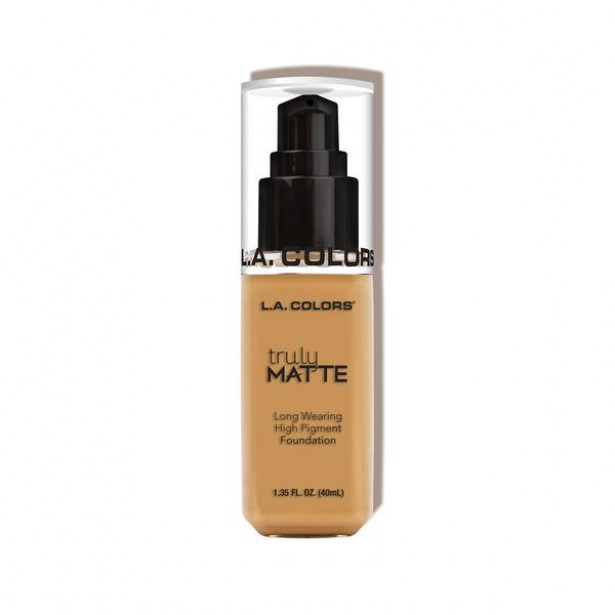 "TRULY MATTE FOUNDATION ""GOLDEN BEIGE"" L.A COLORS"