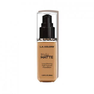 "TRULY MATTE FOUNDATION ""WARM HONNEY"" L.A COLORS"