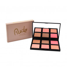 UNDAUNTED BLUSH PALETTE RUDE COSMETICS