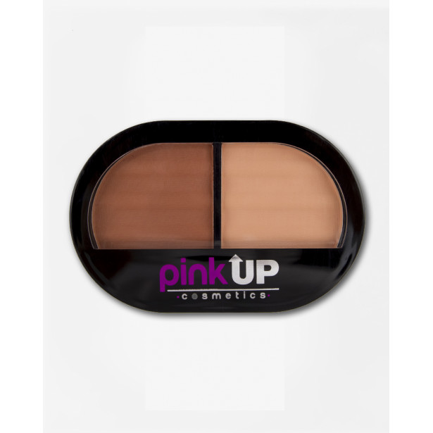 BLUSH DUO BASIC NUDE PINK UP
