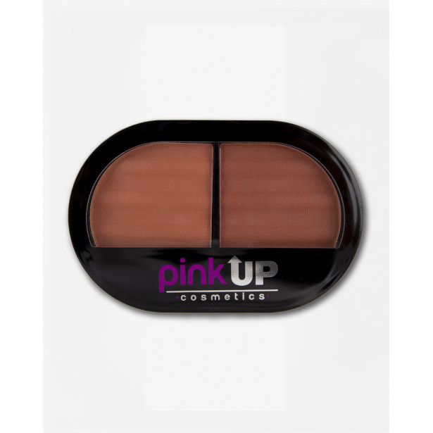 BLUSH DUO CHIC BRONZE PINK UP