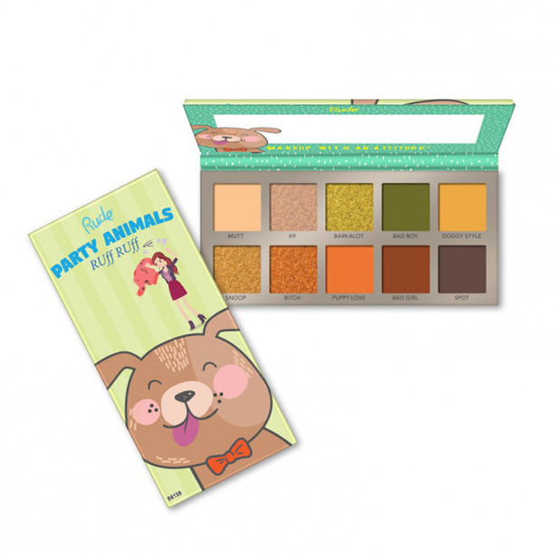 PARTY ANIMALS RUFF RUFF RUDE COSMETICS