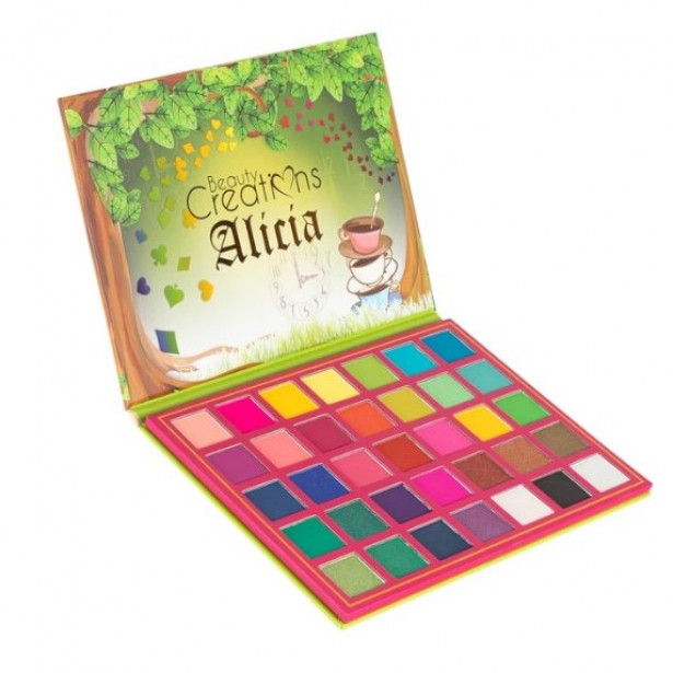 Paleta Sombras Alicia  Beauty Creations