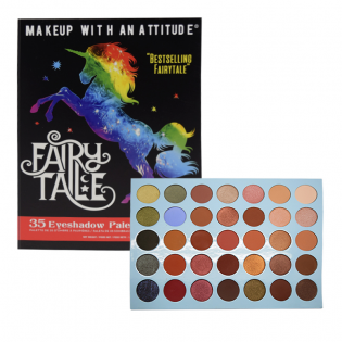 FAIRY TALE 35 EYESHADOW PALETTE RUDE COSMETICS