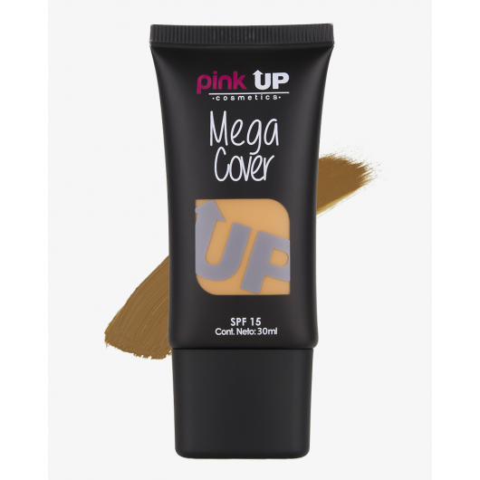 MEGA COVER SPF 15 DEEP TAN PINKUP